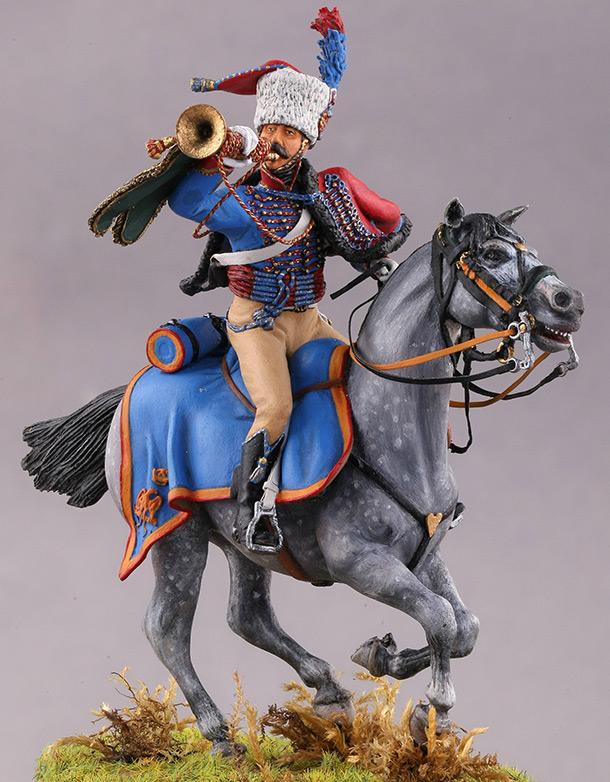 Figures: Trompette des chasseurs à cheval de la garde