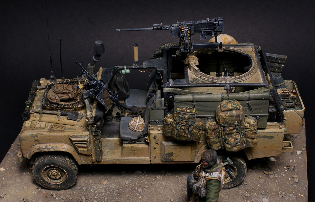 Photo 9 - Land Rover WMIK. Afghanistan 2009 | Dioramas and ...