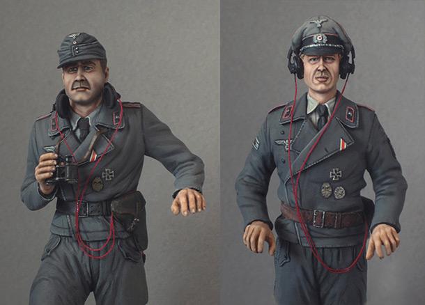 Figures: Wehrmacht tank crew