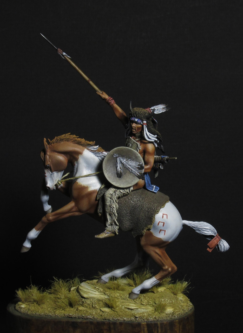 Figures: Nomade of the Great Plains, photo #1