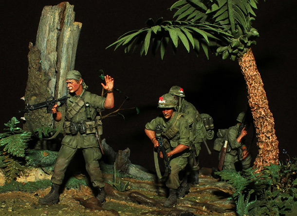 Dioramas and Vignettes: The Patrol