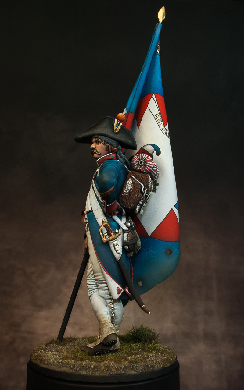 Figures: French revolutionary standard bearer, photo #2