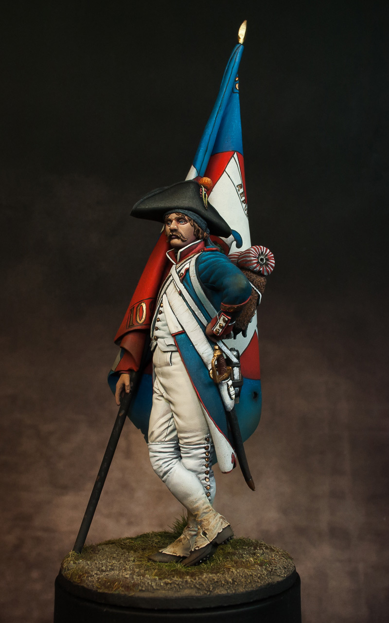 Figures: French revolutionary standard bearer, photo #3