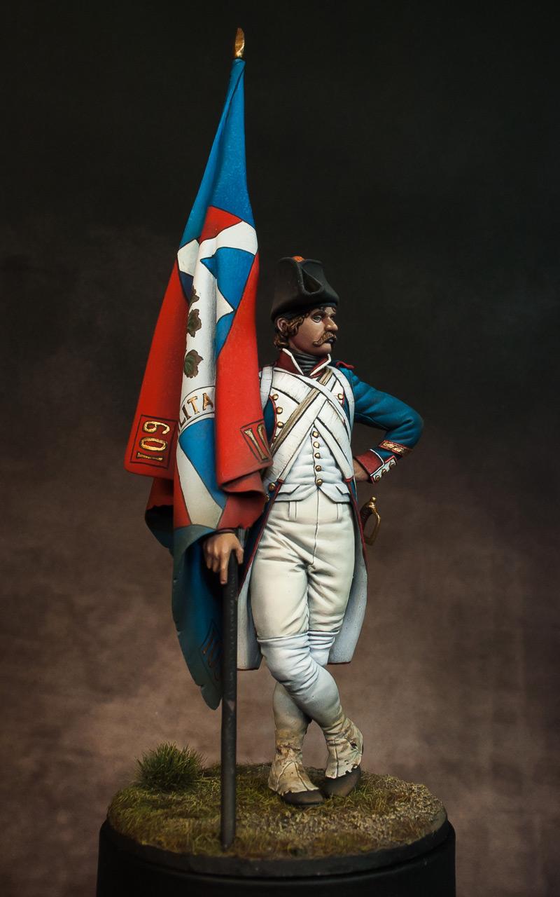 Figures: French revolutionary standard bearer, photo #4