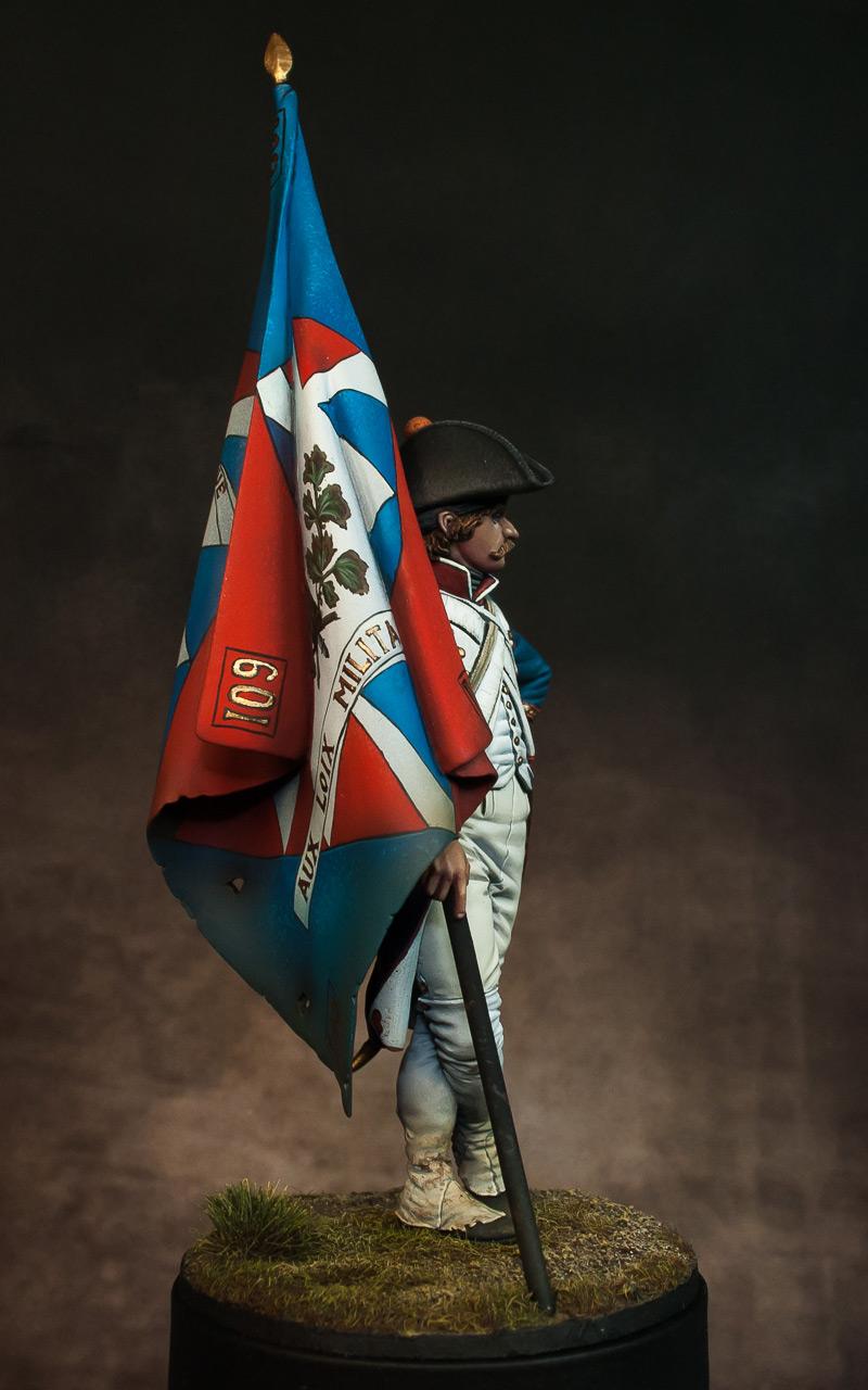Figures: French revolutionary standard bearer, photo #5