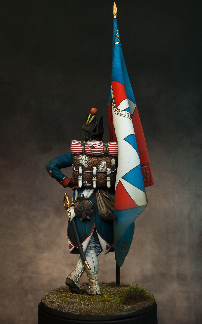 Figures: French revolutionary standard bearer, photo #6