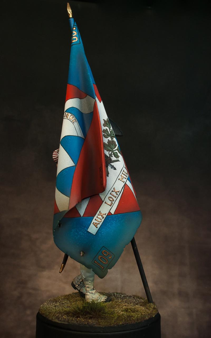 Figures: French revolutionary standard bearer, photo #7