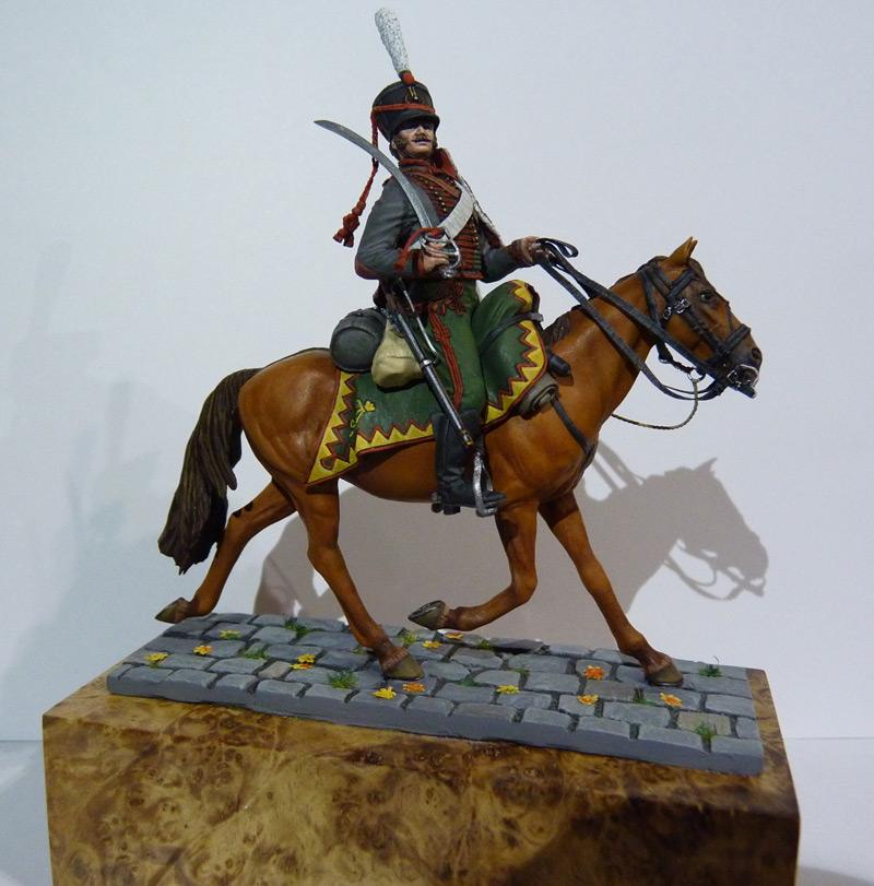 Figures: Private, Elisavetgrad hussars, photo #1