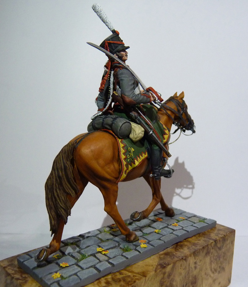 Figures: Private, Elisavetgrad hussars, photo #10