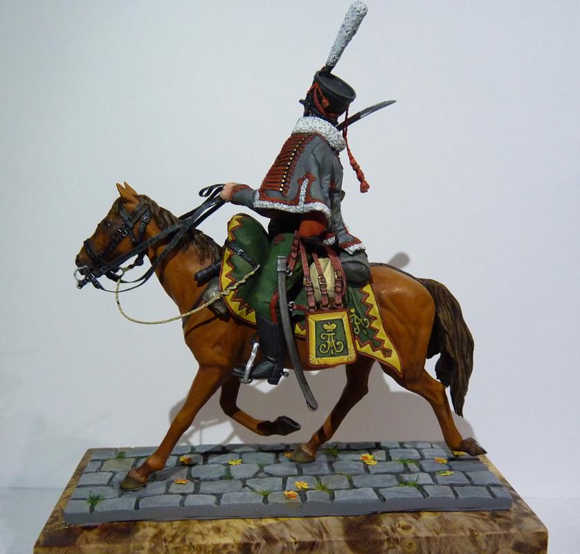 Figures: Private, Elisavetgrad hussars, photo #11