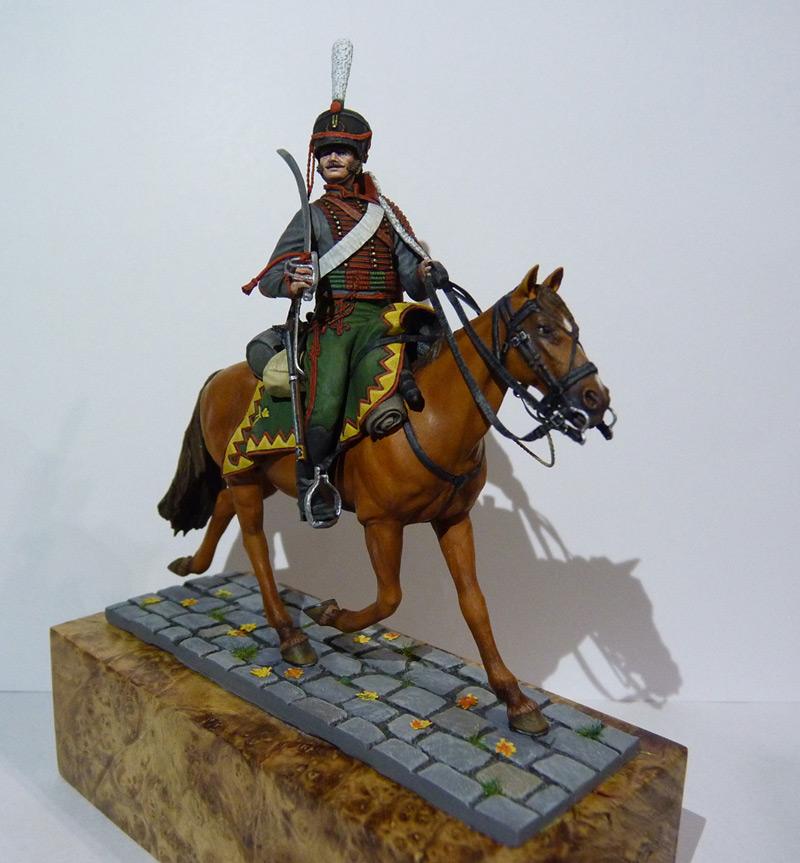 Figures: Private, Elisavetgrad hussars, photo #2