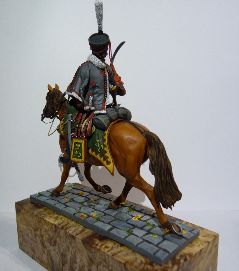 Figures: Private, Elisavetgrad hussars, photo #3