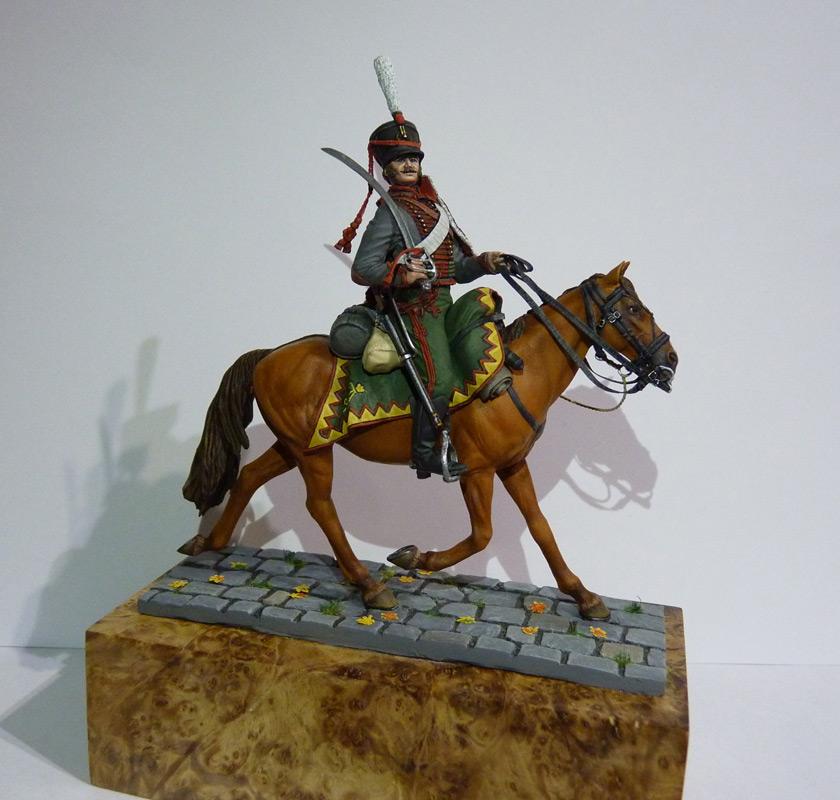 Figures: Private, Elisavetgrad hussars, photo #8