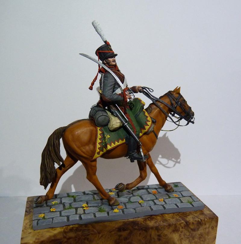 Figures: Private, Elisavetgrad hussars, photo #9