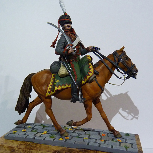 Figures: Private, Elisavetgrad hussars