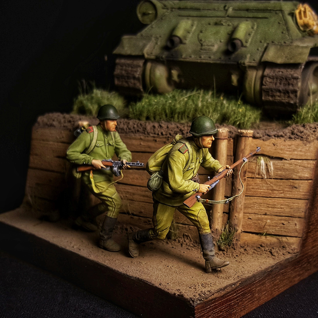 Dioramas and Vignettes: Step by step to the Victory, photo #8