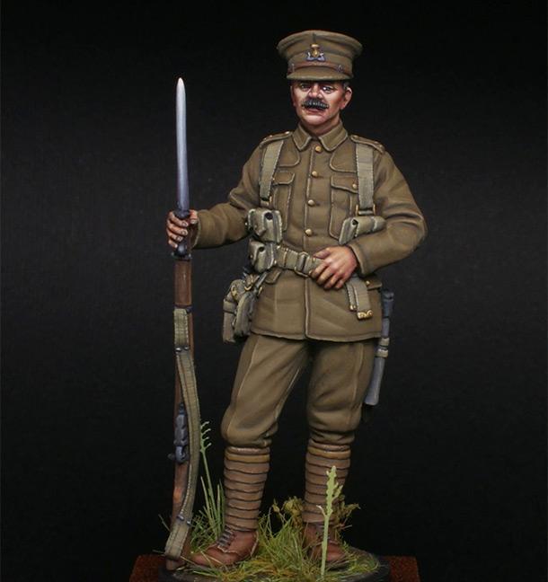 Figures: Lancashire fusilier