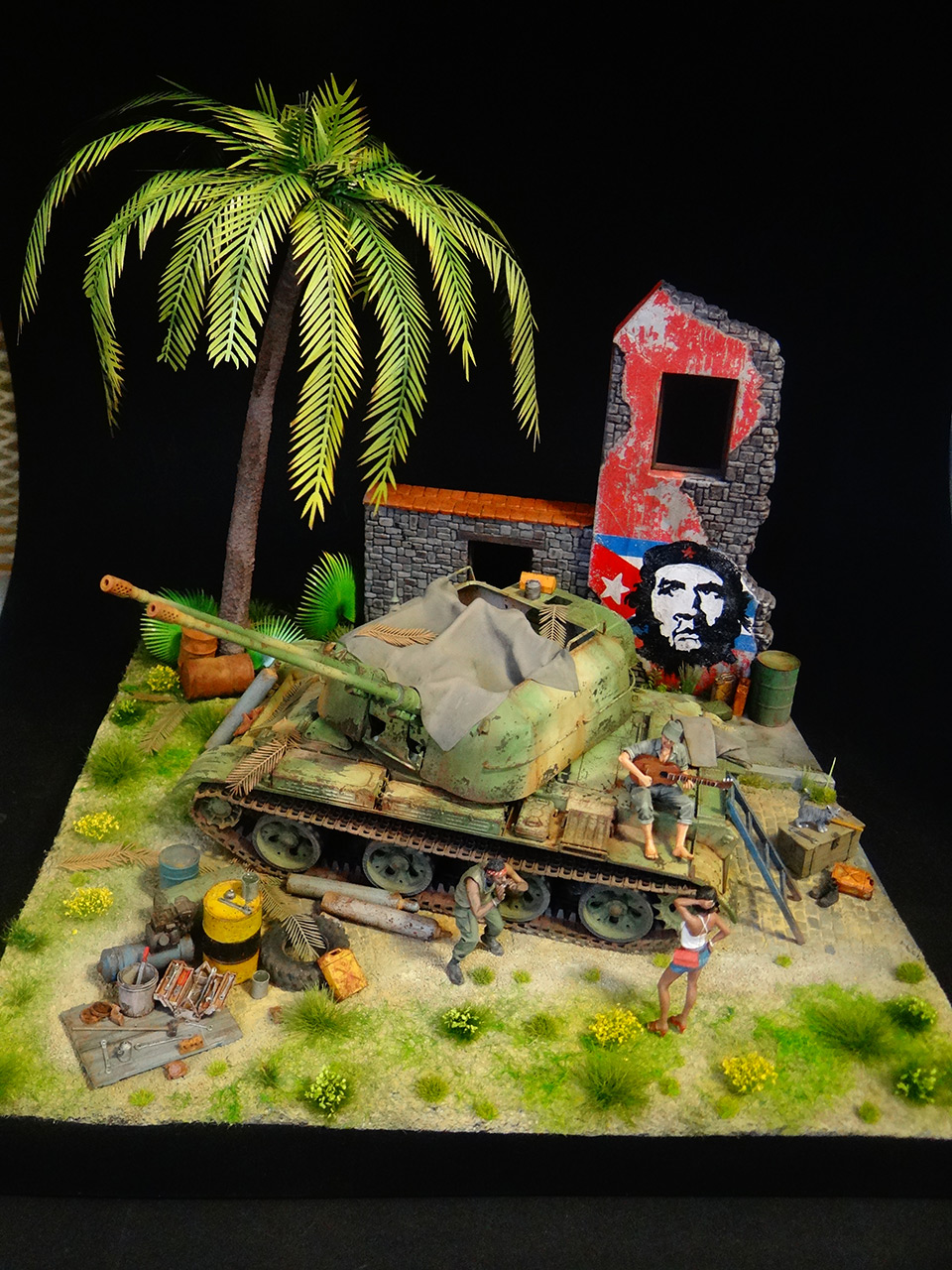 Dioramas and Vignettes: ZU-57-2. Island of Freedom, photo #1