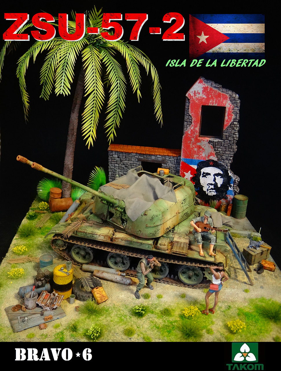 Dioramas and Vignettes: ZU-57-2. Island of Freedom, photo #12