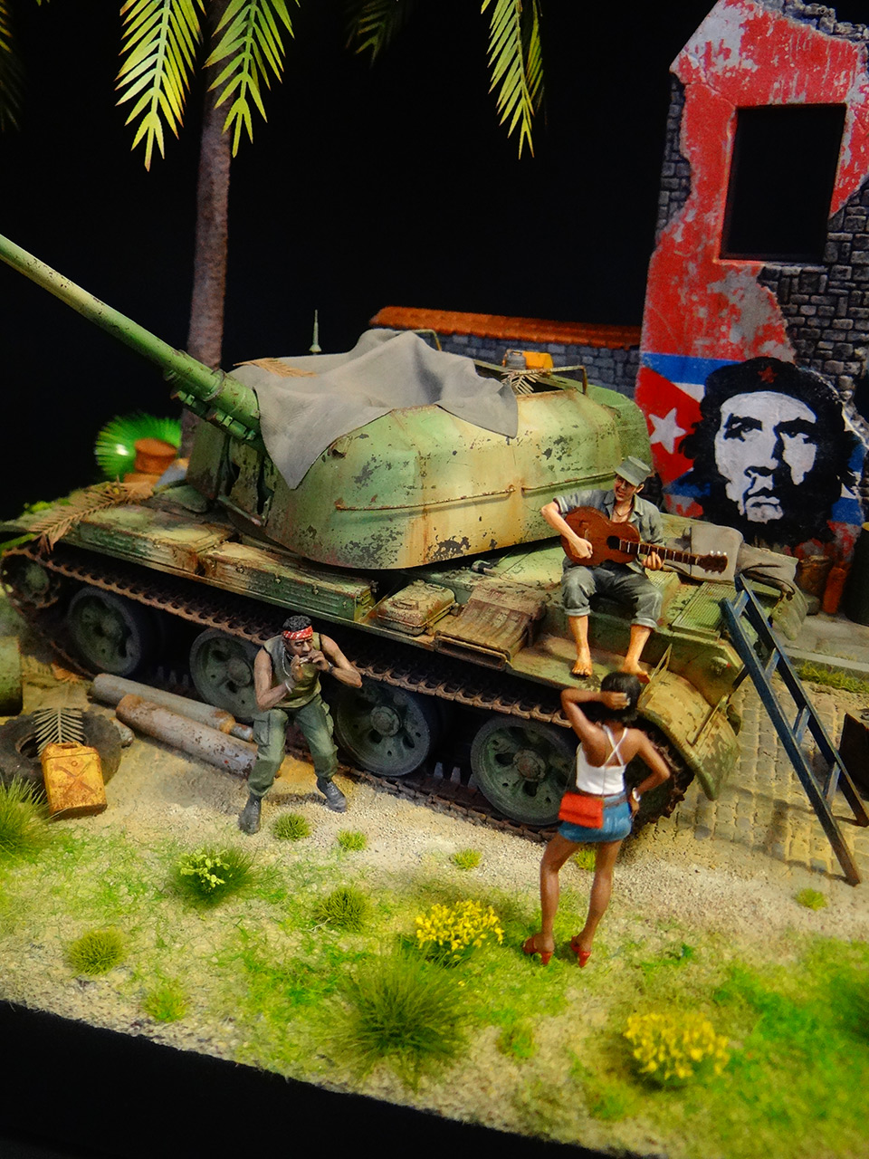 Dioramas and Vignettes: ZU-57-2. Island of Freedom, photo #2