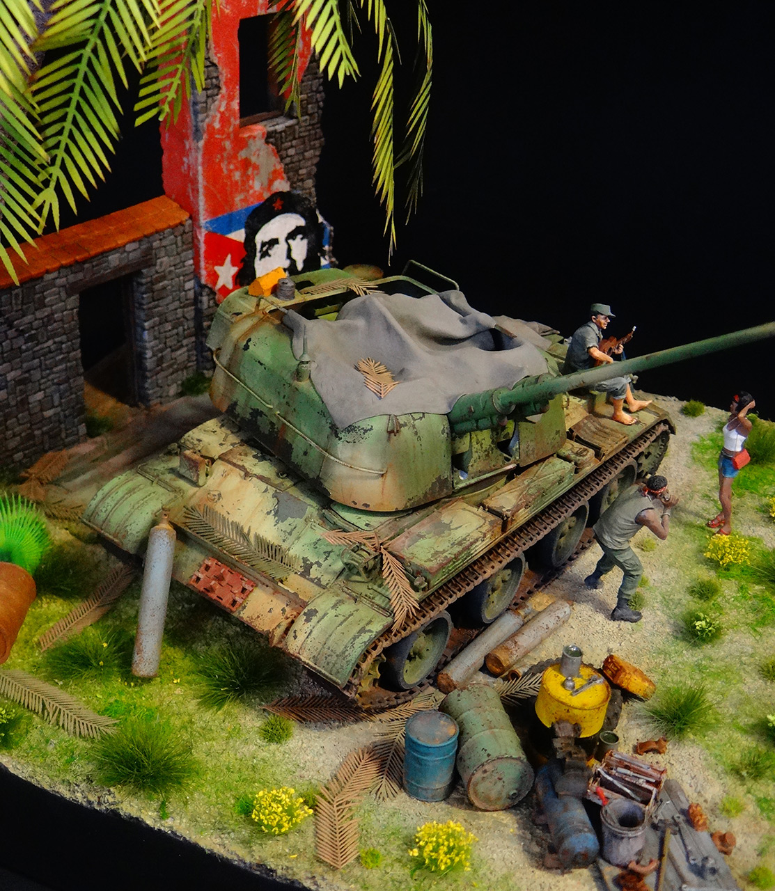 Dioramas and Vignettes: ZU-57-2. Island of Freedom, photo #5