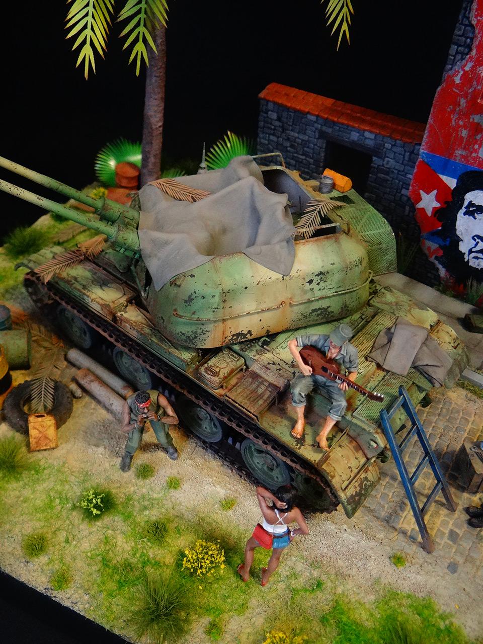 Dioramas and Vignettes: ZU-57-2. Island of Freedom, photo #7