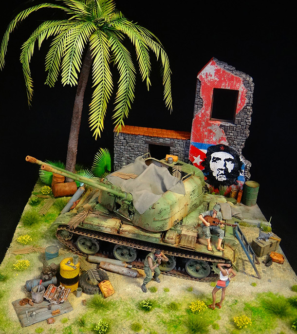 Dioramas and Vignettes: ZU-57-2. Island of Freedom
