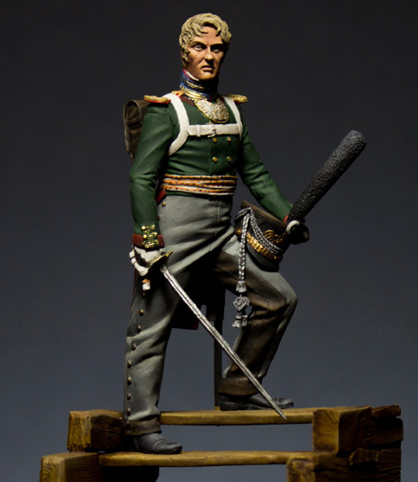 Figures: Officer, Semyonovsky regt.