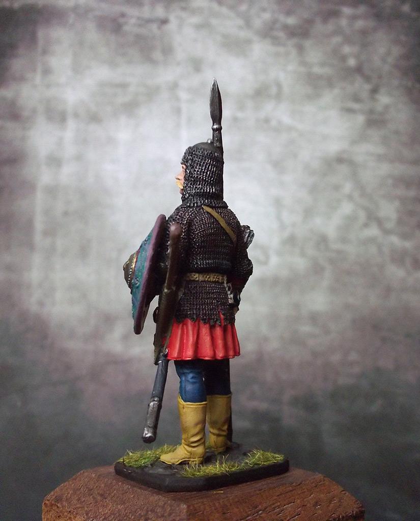 Figures: Polish armored cossack, late XVII cent., photo #4