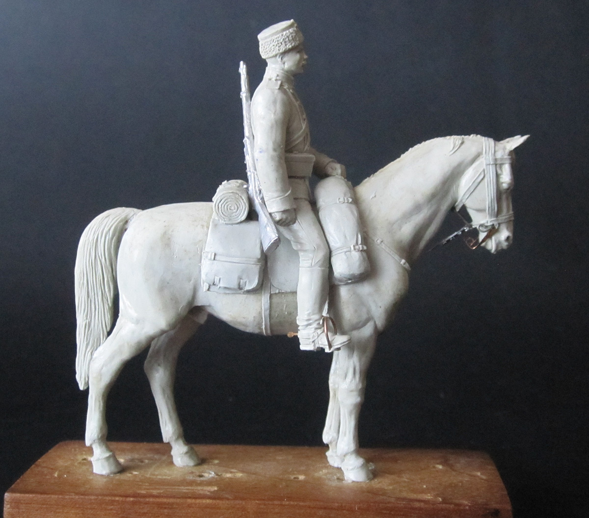 Sculpture: Dragoons private, 1897-1907, photo #2