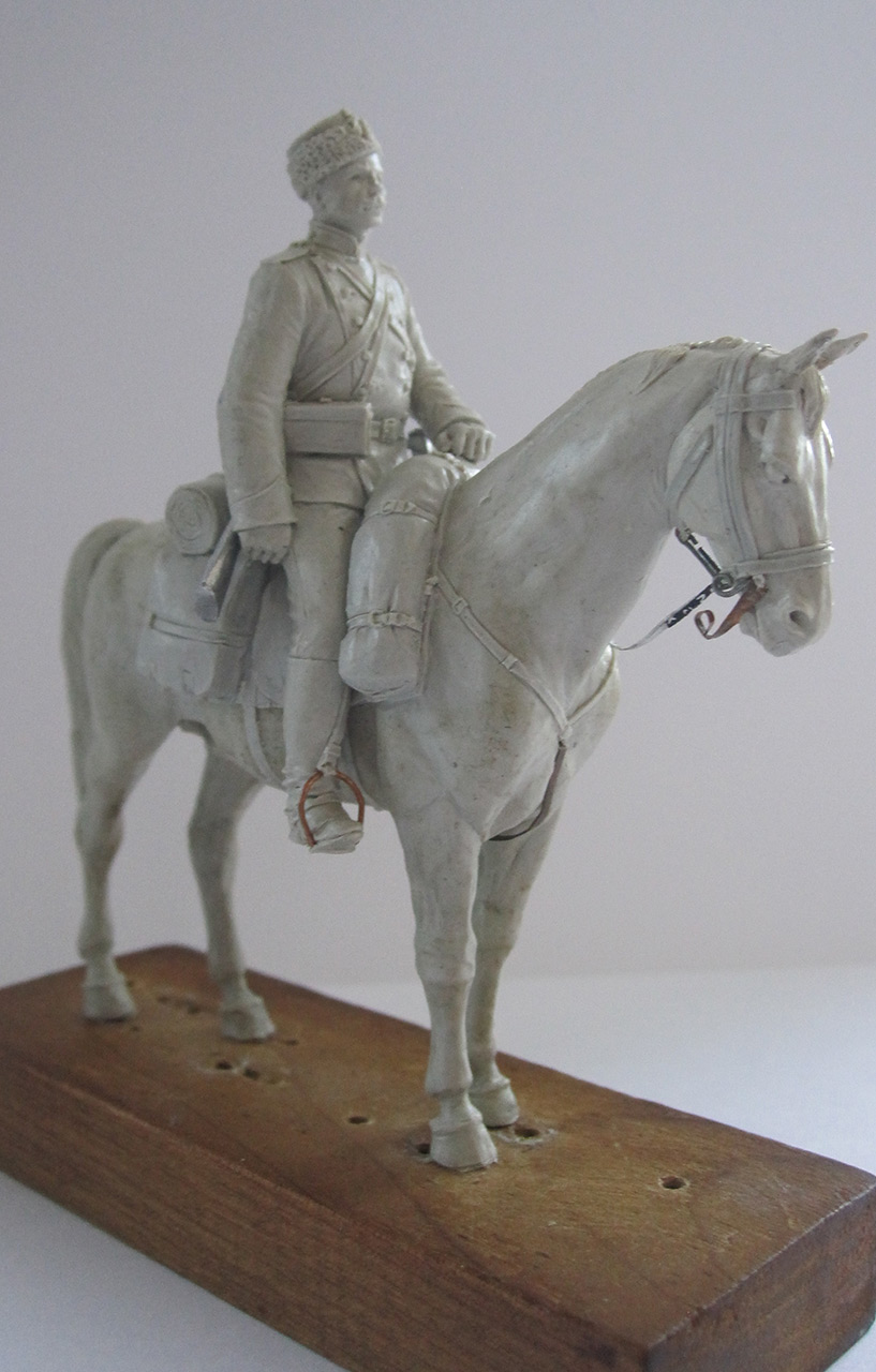 Sculpture: Dragoons private, 1897-1907, photo #4