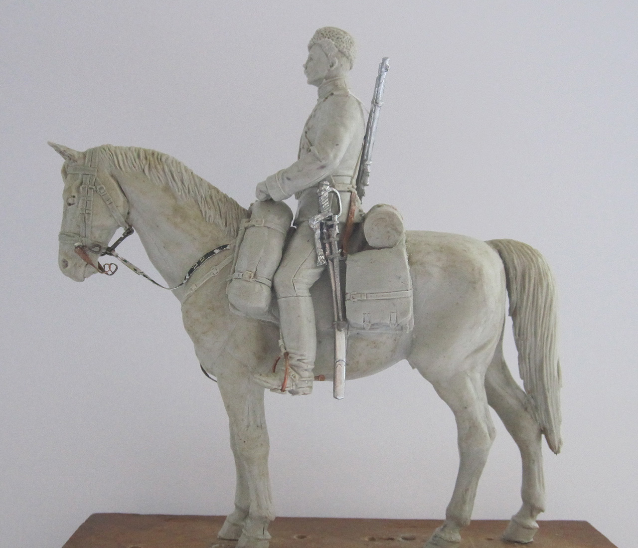 Sculpture: Dragoons private, 1897-1907, photo #5