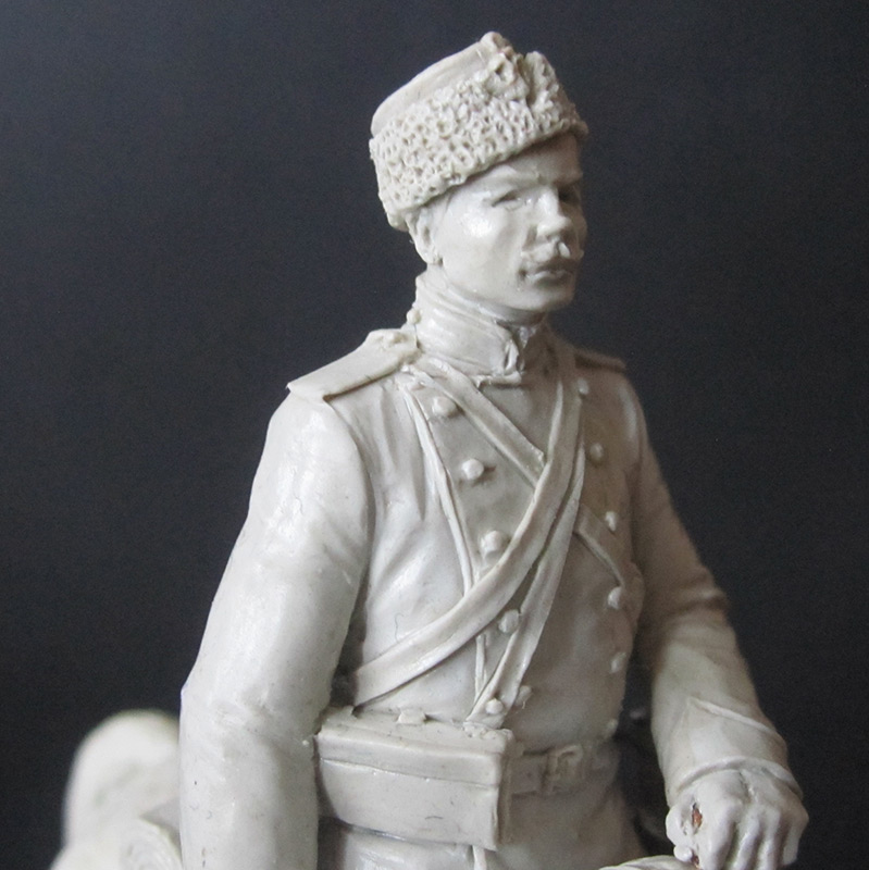 Sculpture: Dragoons private, 1897-1907, photo #7
