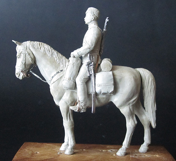 Sculpture: Dragoons private, 1897-1907