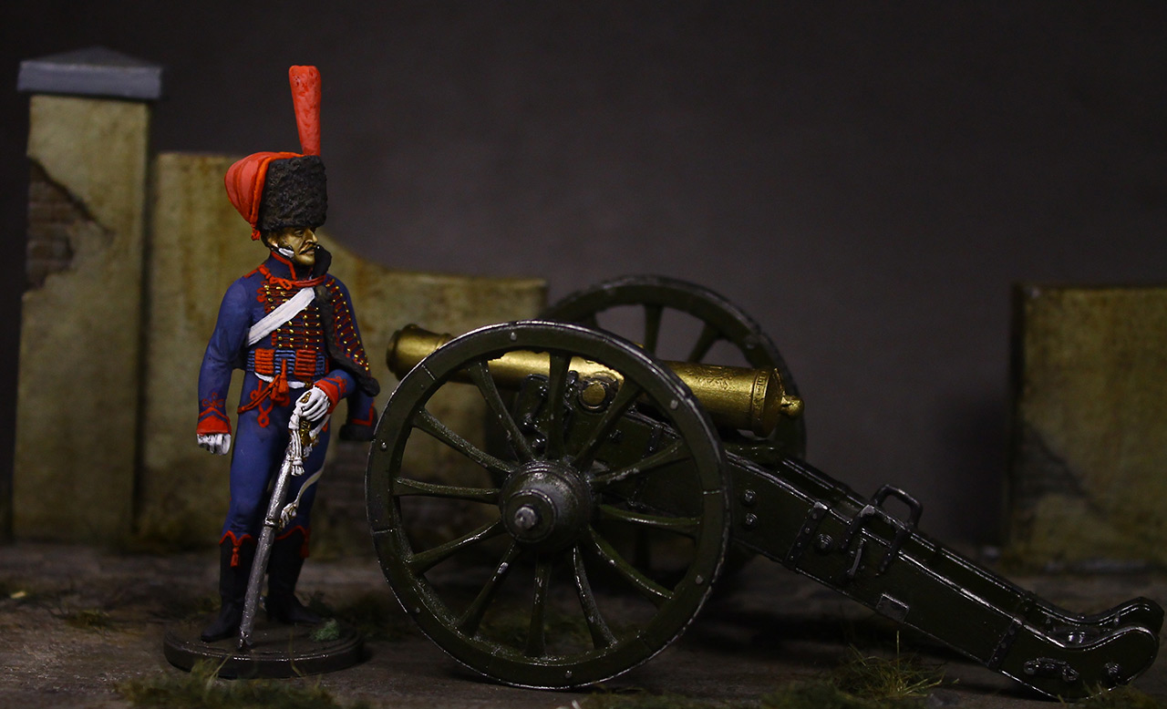 Figures: Gunner, Guard mounted artillery, 1814, photo #2