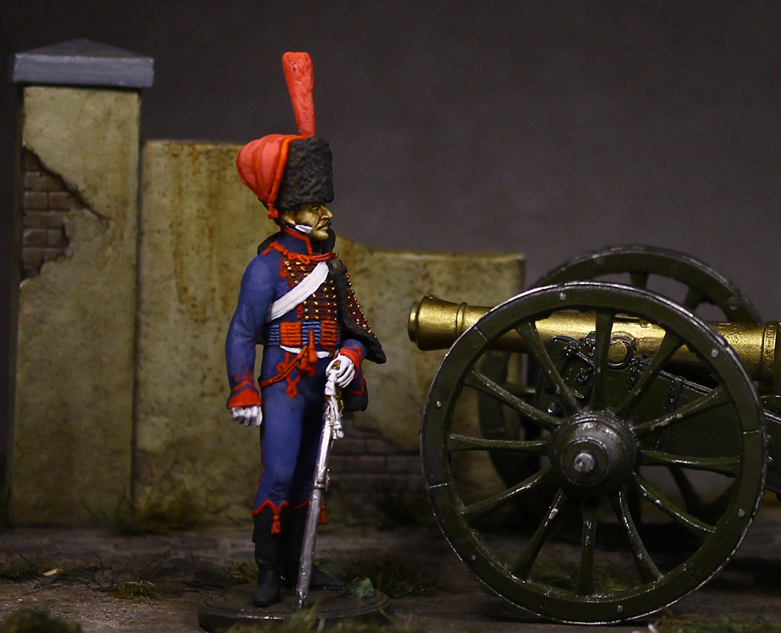Figures: Gunner, Guard mounted artillery, 1814, photo #4