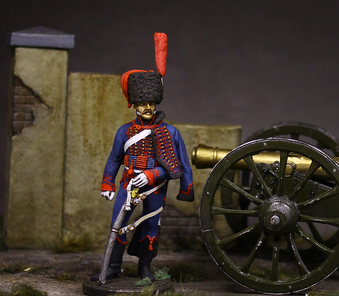 Figures: Gunner, Guard mounted artillery, 1814, photo #5