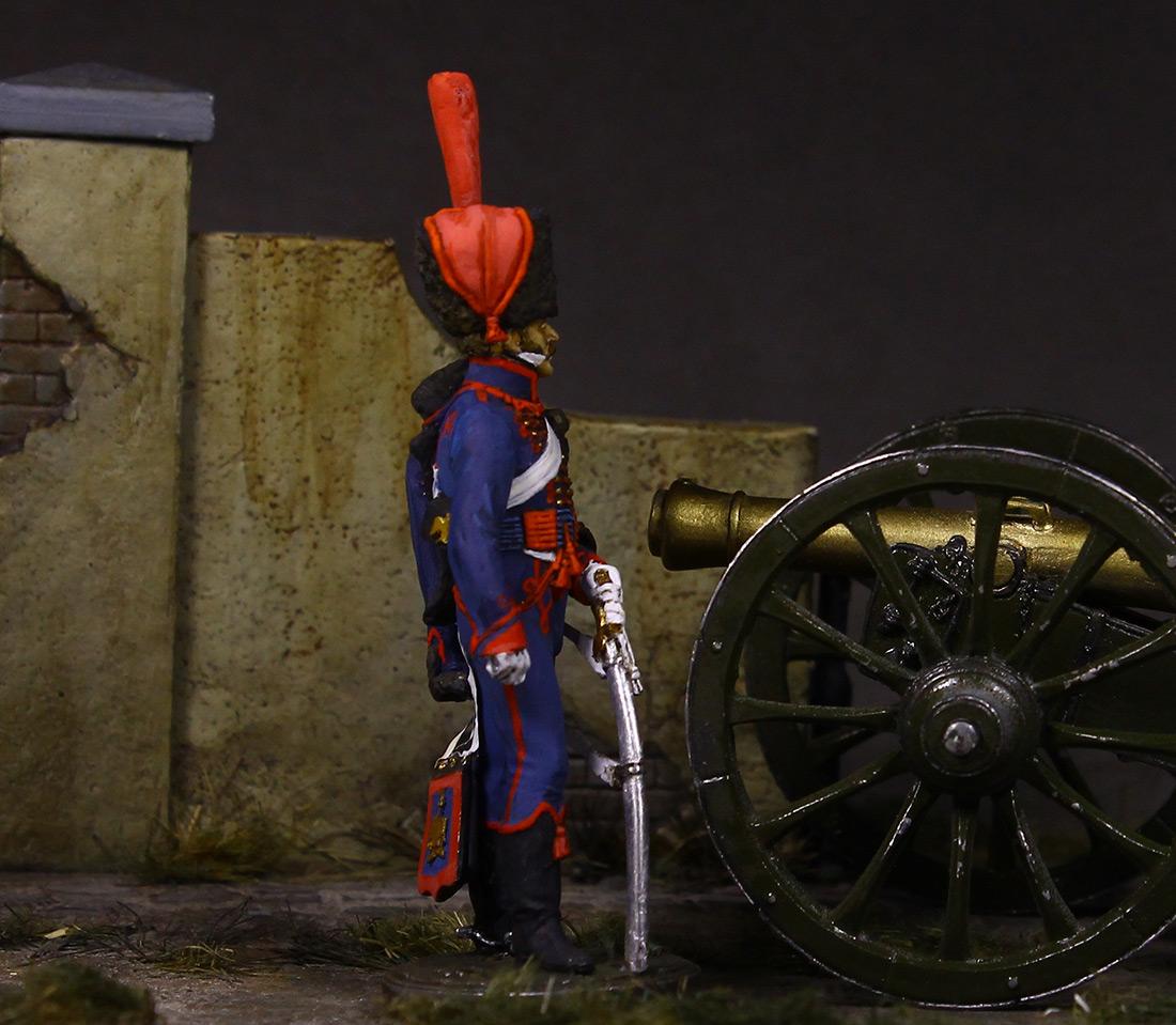 Figures: Gunner, Guard mounted artillery, 1814, photo #6
