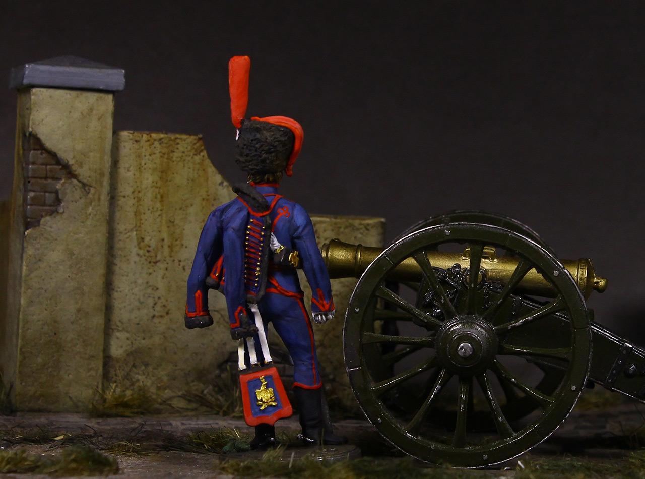 Figures: Gunner, Guard mounted artillery, 1814, photo #7