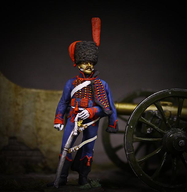 Figures: Gunner, Guard mounted artillery, 1814