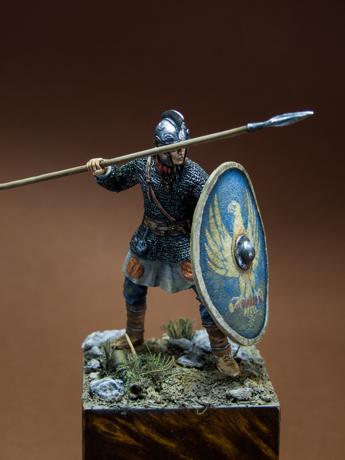 Figures: Roman legionary, IV A.D., photo #1