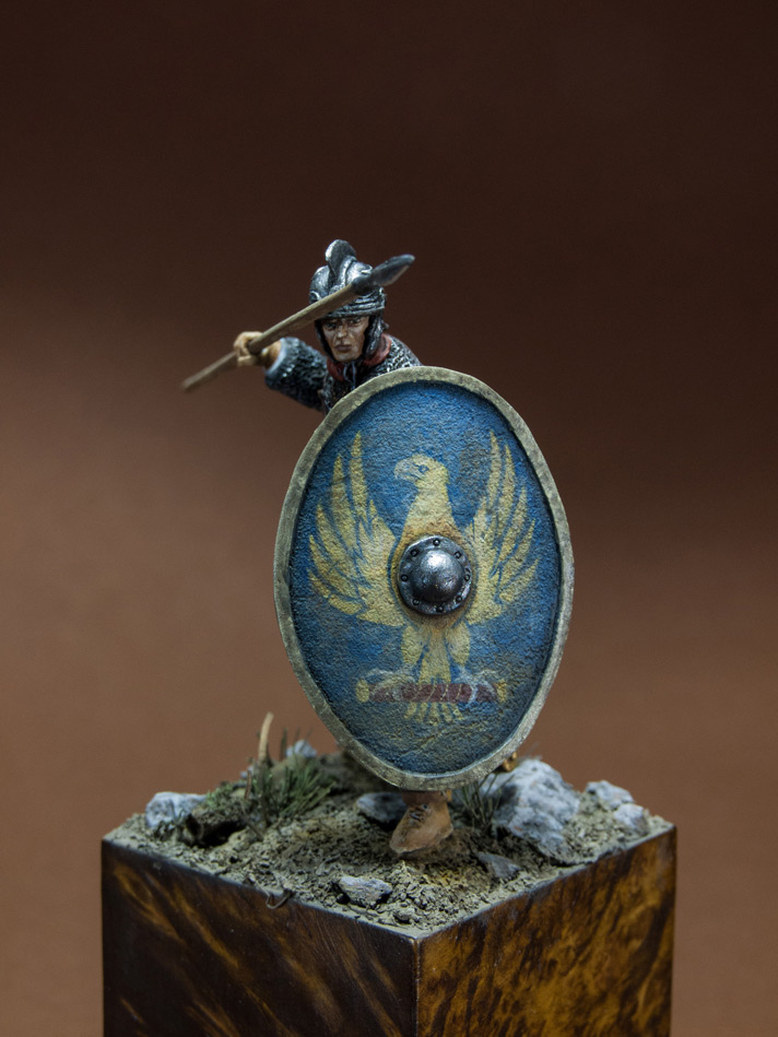 Figures: Roman legionary, IV A.D., photo #2