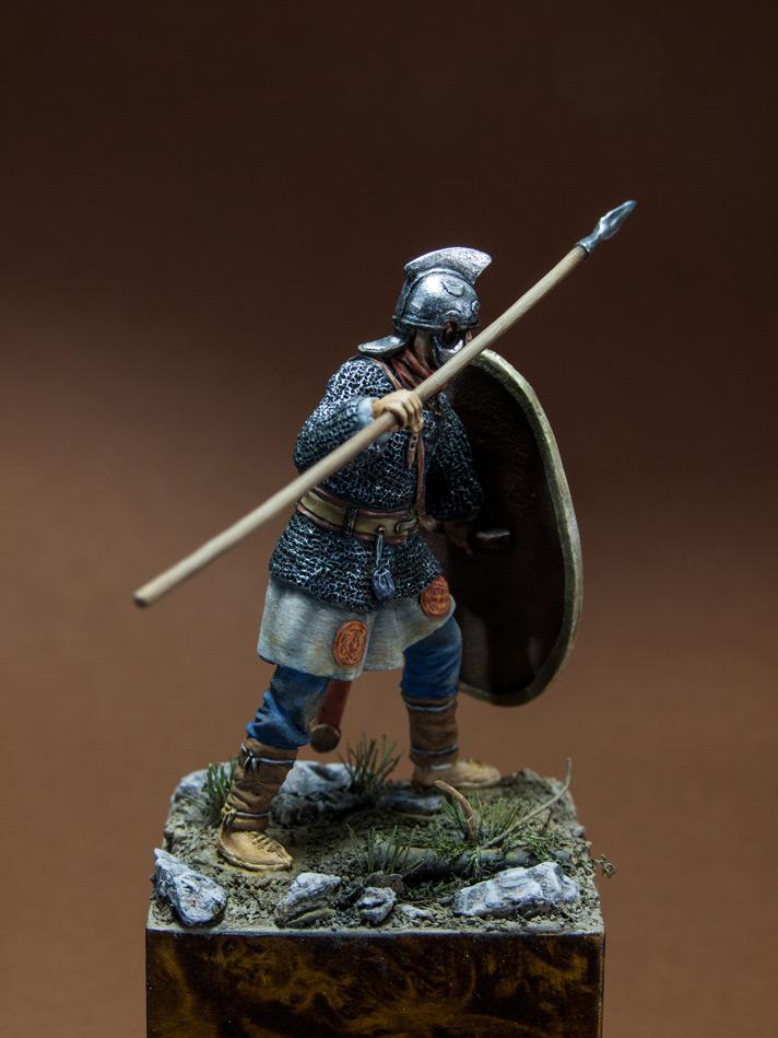 Figures: Roman legionary, IV A.D., photo #7