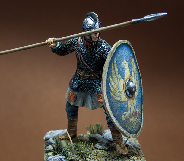 Figures: Roman legionary, IV A.D.