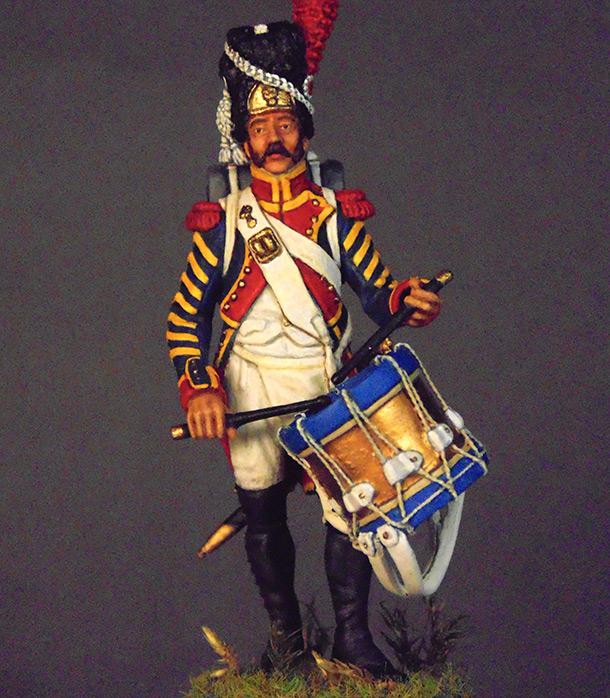 Figures: Drummer, line infantry grenadiers