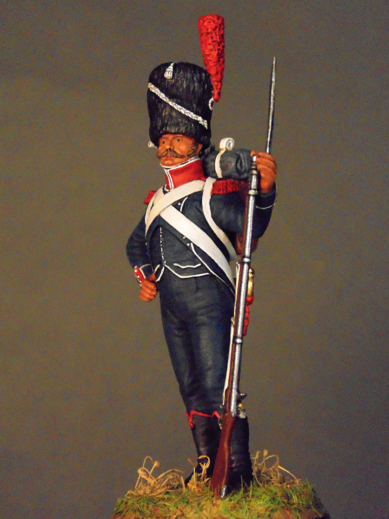 Figures: Carabineer of line infantry, Napoleonic France, photo #1