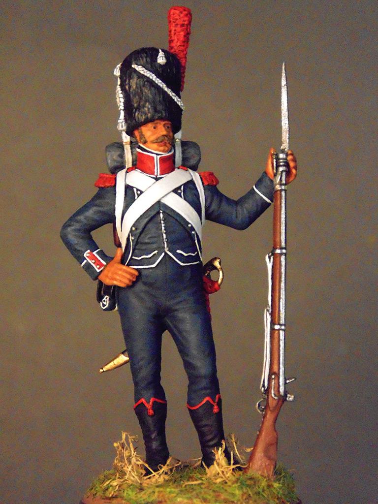 Figures: Carabineer of line infantry, Napoleonic France, photo #3