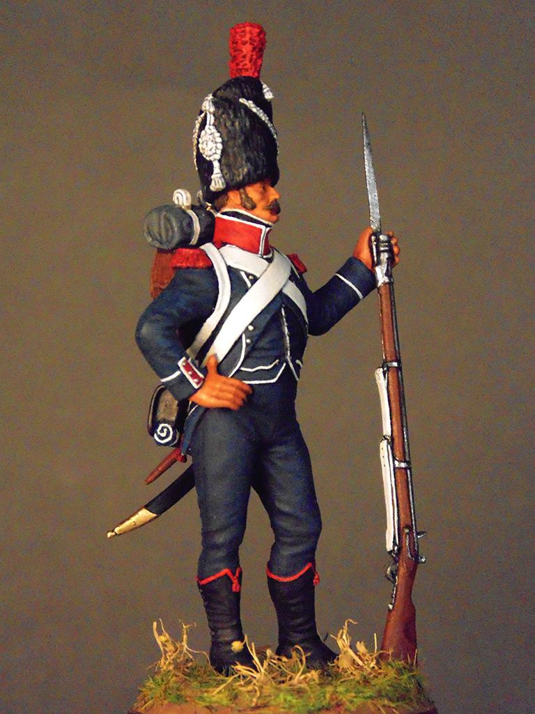 Figures: Carabineer of line infantry, Napoleonic France, photo #4
