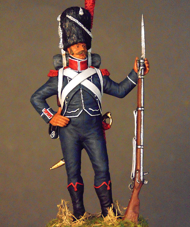 Figures: Carabineer of line infantry, Napoleonic France
