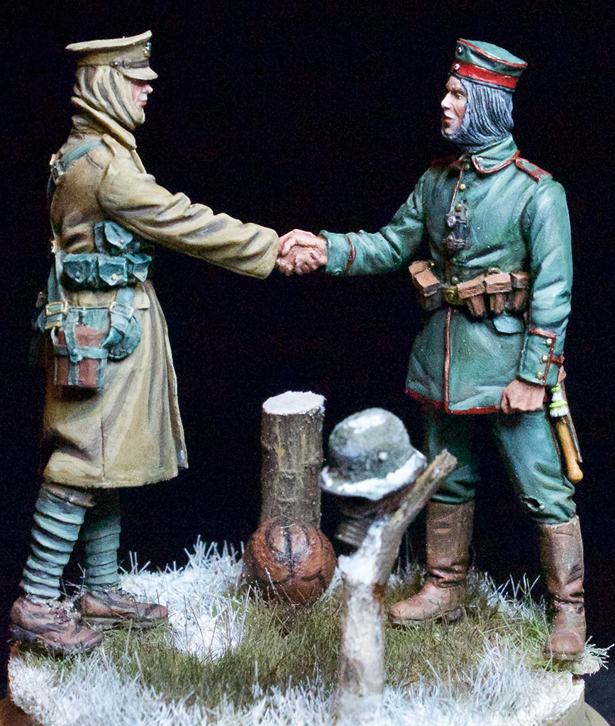 Dioramas and Vignettes: Christmas Truce, 1914, photo #1